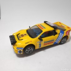 Scalextric: SCALEXTRIC FORD RS200 PUROLATOR AMARILLO EXIN. Lote 165581098