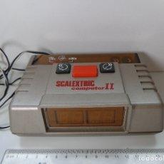 Scalextric: CUENTA-VUELTAS ELECTRÓNICO COMPUTER II ORIGINAL SCALEXTRIC EXIN AÑO 1987, INCLUYE PISTA Y CONECTORES. Lote 177983032