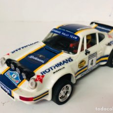 Scalextric: SCALEXTRIC PORSCHE CARRERA RS ROTHMANS EXIN. Lote 165790022