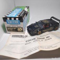 Scalextric: SCALEXTRIC BMW M1 20 ANIVERSARIO EXIN NUEVO A ESTRENAR. Lote 165881049