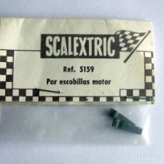 Scalextric: PAR ESCOBILLAS DE MOTOR EN BLISTER ORIGINAL SCALEXTRIC EXIN, REF 5159 NUEVO AÑOS 60 . Lote 166029662