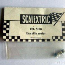 Scalextric: ESCOBILLA DE MOTOR EN BLISTER ORIGINAL SCALEXTRIC EXIN, REF 5158 LOTE 1 NUEVO AÑOS 60 . Lote 166029954