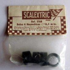 Scalextric: FERRARI B-3,ALPINE RENAULT 2000,4 NEUMATICOS ORIGINAL SCALEXTRIC EXIN, REF 5168 LOTE 1 . Lote 166036854