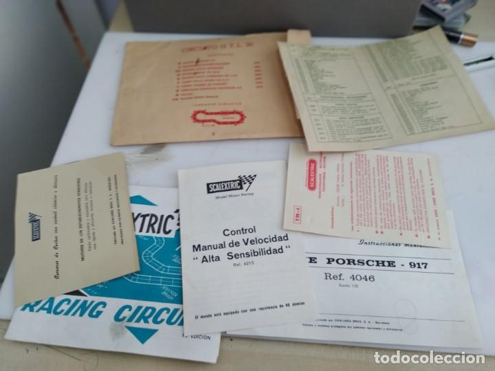 Scalextric: ANTIGUO SOBRE DE DOCUMENTACION GTL 30 SCALEXTRIC EXIN - Foto 3 - 166113854