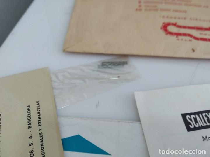 Scalextric: ANTIGUO SOBRE DE DOCUMENTACION GTL 30 SCALEXTRIC EXIN - Foto 5 - 166113854