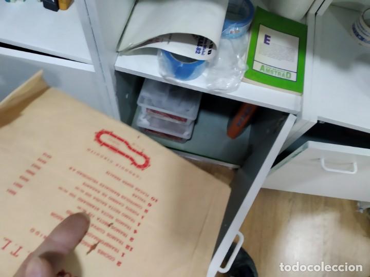 Scalextric: ANTIGUO SOBRE DE DOCUMENTACION GTL 30 SCALEXTRIC EXIN - Foto 8 - 166113854