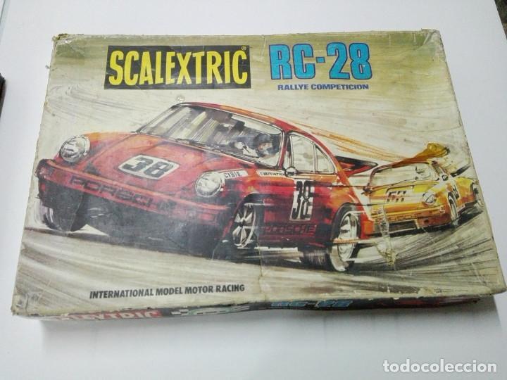 CAJA CIRCUITO SCALEXTRIC RC-28 (Juguetes - Slot Cars - Scalextric Exin)