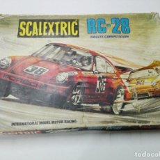 Scalextric: CAJA CIRCUITO SCALEXTRIC RC-28. Lote 166156654