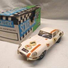 Scalextric: JAGUAR GT E BLANCO REF C 34 DE EXIN SCALEXTRIC AÑOS 70. Lote 166263834