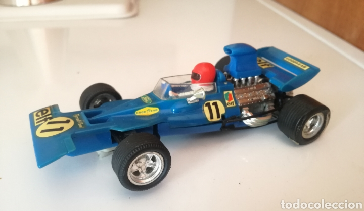 FORD TYRRELL AZUL SCALEXTRIC EXIN (Juguetes - Slot Cars - Scalextric Exin)