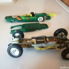 Scalextric: LOTUS FRANCE BOLIDE VERDE TIPO SCALEXTRIC. Lote 166425638