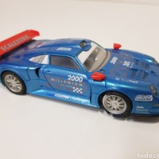 Scalextric: SCALEXTRIC / PORCHE 911 GT1 2000 MILLENIUM EDITION / FUNCIONA CORRECTAMENTE / EXIN. Lote 166596550