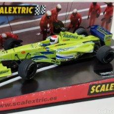 Scalextric: SCALEXTRIC / MINARDI F-1 / CON CAJA / FUNCIONA. Lote 166604712