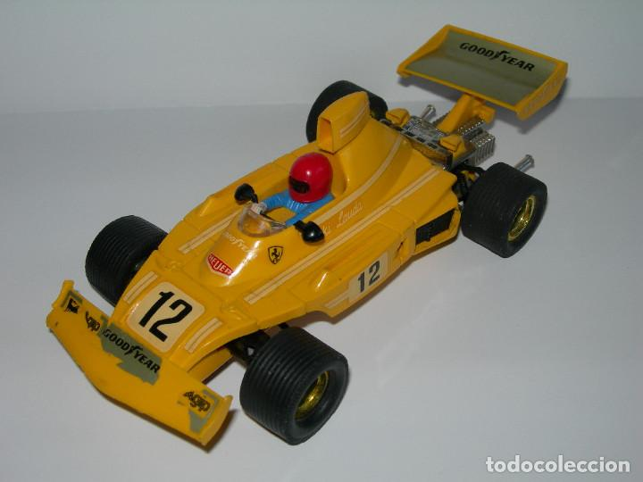 ANTIGUO COCHE FERRARI B3 F1 REF. 4052 COLOR AMARILLO 100 % ORIGINAL SCALEXTRIC EXIN (Juguetes - Slot Cars - Scalextric Exin)