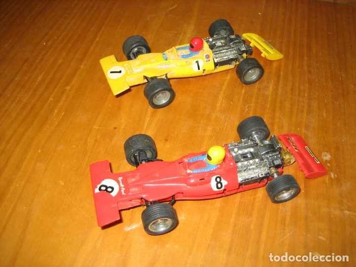 LOTE COCHES SCALEXTRIC (Juguetes - Slot Cars - Scalextric Exin)
