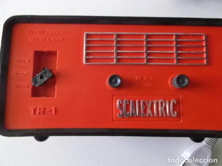 Scalextric: Lote transformador Triang y dos mandos Scalextric Exin años 70 - Foto 4 - 166801638