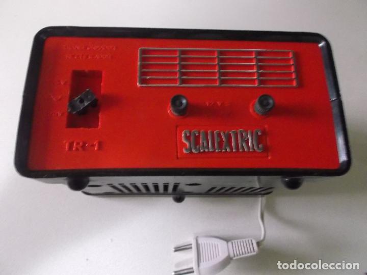 Scalextric: Lote transformador Triang y dos mandos Scalextric Exin años 70 - Foto 5 - 166801638