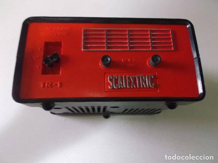 Scalextric: Lote transformador Triang y dos mandos Scalextric Exin años 70 - Foto 7 - 166801638