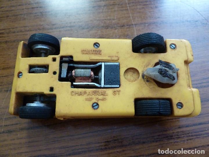Scalextric: SCALEXTRIC EXIN CHAPARRAL GT AMARILLO REF C-40 - Foto 7 - 167153700