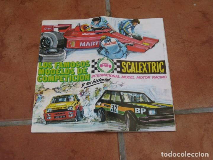 CATALOGO SCALEXTRIC EXIN 1982 (Juguetes - Slot Cars - Scalextric Exin)