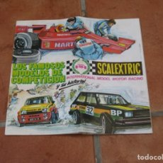 Scalextric: CATALOGO SCALEXTRIC EXIN 1982. Lote 167440248