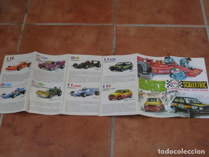 Scalextric: Catalogo Scalextric Exin 1982 - Foto 3 - 167440248