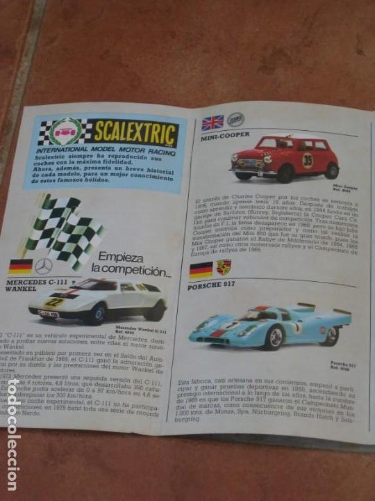 Scalextric: Catalogo Scalextric Exin 1982 - Foto 7 - 167440248
