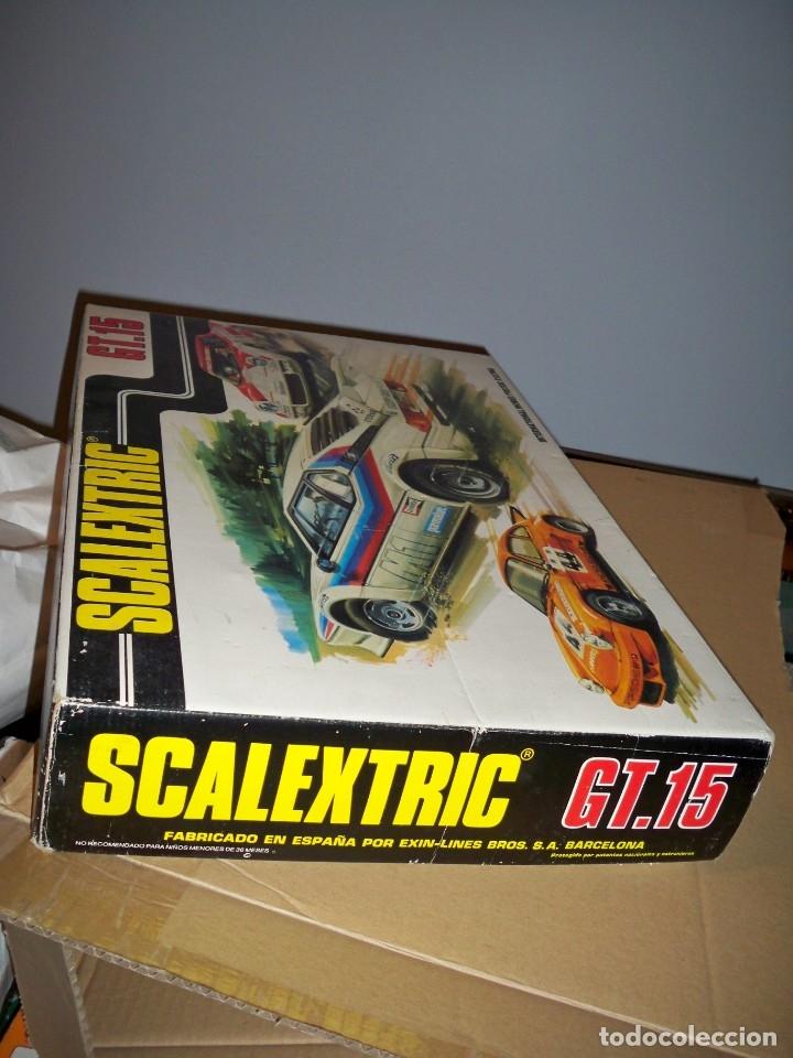 Scalextric: SCALEXTRIC CIRCUITO GT 15 PISTAS MANDOS RECTIFICADOR TRANSFORMADOR - Foto 7 - 130525586