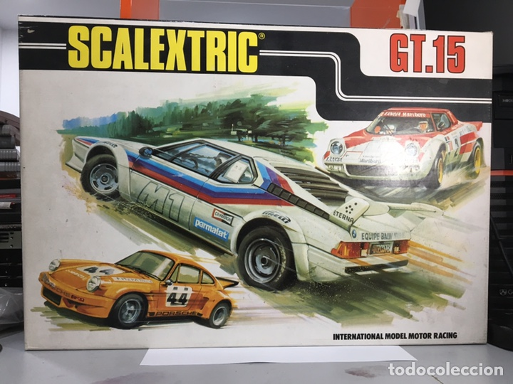SCALEXTRIC GT.15 (Juguetes - Slot Cars - Scalextric Exin)