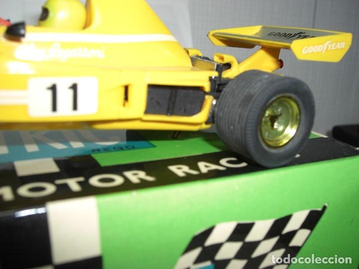 Scalextric: Ferrari B-3 Fórmula 1 Rfª 4052 Amarillo. 100 % Original. Con instrucciones también originales - Foto 5 - 132936562