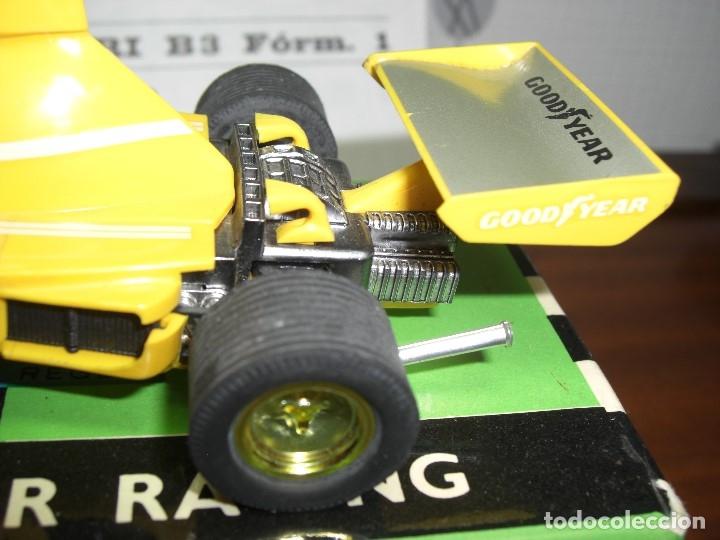 Scalextric: Ferrari B-3 Fórmula 1 Rfª 4052 Amarillo. 100 % Original. Con instrucciones también originales - Foto 6 - 132936562
