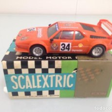 Scalextric: SLOT, SCALEXTRIC 4063 - 4064, BMW M1 Nº34, JAGERMEISTER. Lote 168024796