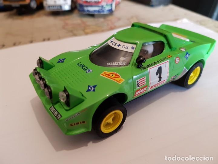 SCALEXTRIC LANCIA STRATOS JORGE BRAGATION SER LTDA NUEVO (Juguetes - Slot Cars - Scalextric Exin)