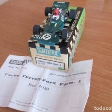 Scalextric: SCALEXTRIC: REF. 4048 - FORD TYRRELL FORMULA 1 EN CAJA ORIGINAL. Lote 168322280