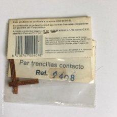 Scalextric: PAR DE TRENCILLAS DE SCALEXTRIC EXIN STS REF. 2408. Lote 110820511