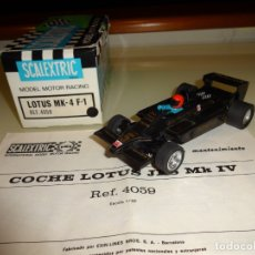 Scalextric - Scalextric. Exin. Lotus MKIV F1 Negro. John Player. Ref. 4059 - 168517892