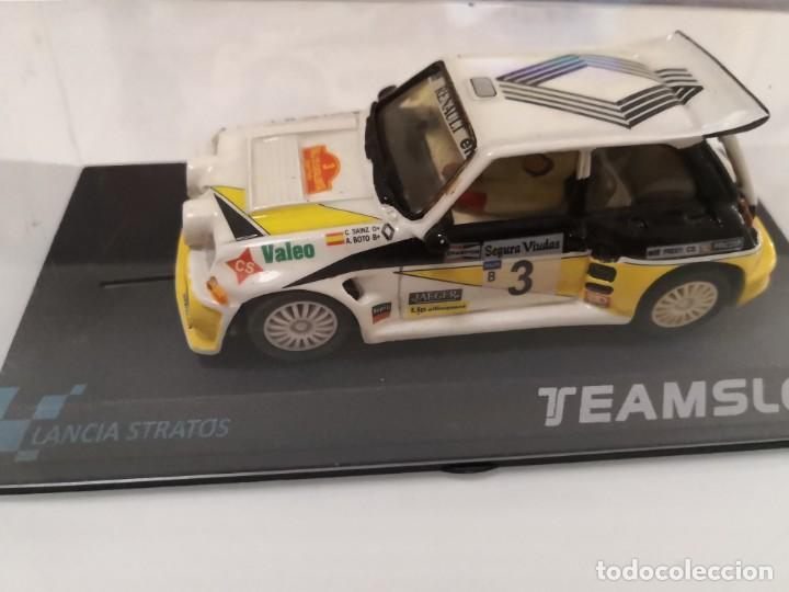 RENAULT 5 MAXI TURBO SCALEXTRIC TEAM SLOT (Juguetes - Slot Cars - Scalextric Exin)