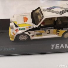 Scalextric: RENAULT 5 MAXI TURBO SCALEXTRIC TEAM SLOT. Lote 195389517
