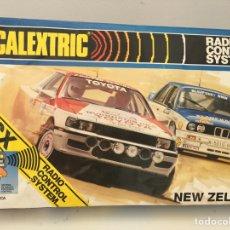 Scalextric: SCALEXTRIC NEW ZELAND. A ESTRENAR, DE JUGUETERÍA. TOYOTA CELICA, BMW M3. Lote 168805532