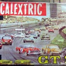 Scalextric: SCALEXTRIC GT 25 CON 2 MERCEDES 250 SPORT, VERDE,BLANCO CAJA COMPLETA EN BUEN ESTADO. Lote 168890204