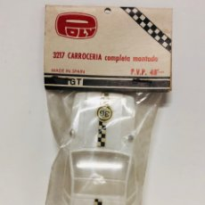Scalextric: SCALEXTRIC EXIN POLY 3202 TOMASO MANGUSTA CARROCERÍA MONTADA 3217 MADE IN SPAIN. Lote 169119462