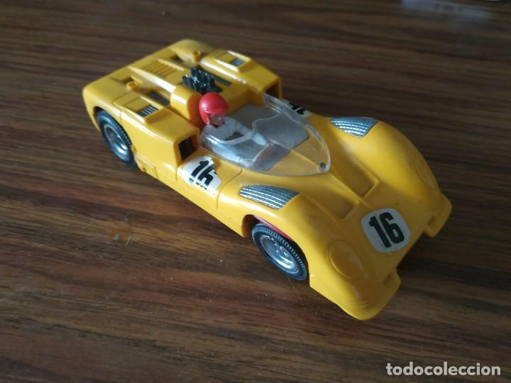 SCALEXTRIC EXIN CHAPARRAL GT AMARILLO REF C-40 (Juguetes - Slot Cars - Scalextric Exin)