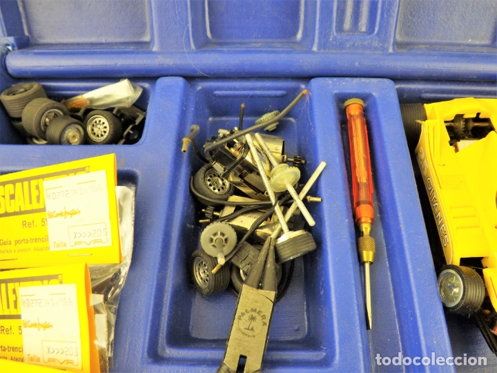 Scalextric: Scalextric Maletín con multitud de piezas - Foto 5 - 169627112
