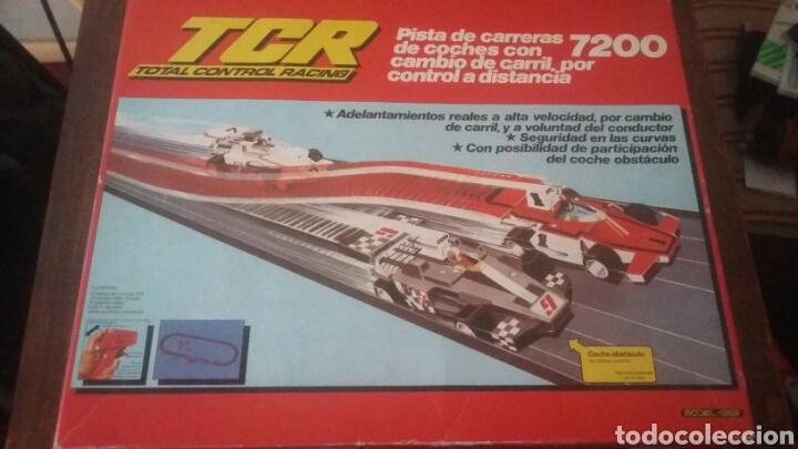 PISTA DE CARRERAS TCR 7200 TIPO SCALEXTRIC (Juguetes - Slot Cars - Scalextric Exin)