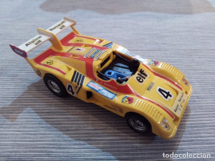RENAULT ALPINE 2000 TURBO SCALEXTRIC EXIN (Juguetes - Slot Cars - Scalextric Exin)