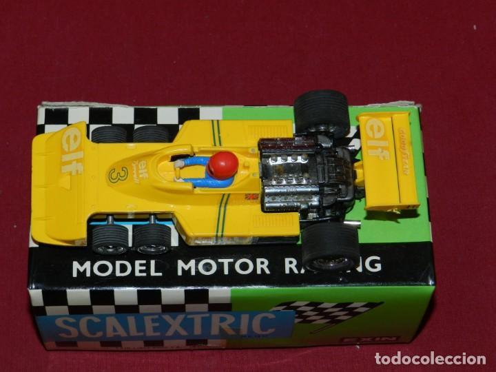 Scalextric: (M) Coche Sacalextric Tyrrell P-34 de Colo Amarillo con Caja, Señales de uso - Foto 2 - 169877280
