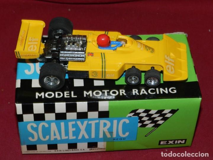 Scalextric: (M) Coche Sacalextric Tyrrell P-34 de Colo Amarillo con Caja, Señales de uso - Foto 3 - 169877280