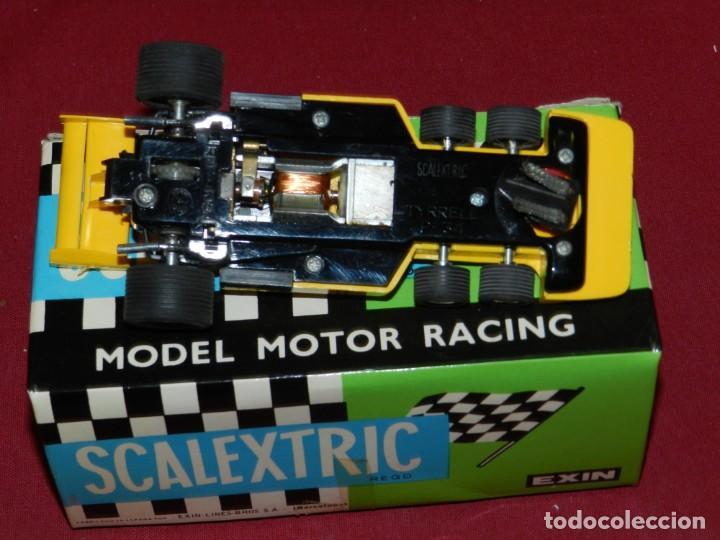 Scalextric: (M) Coche Sacalextric Tyrrell P-34 de Colo Amarillo con Caja, Señales de uso - Foto 4 - 169877280
