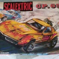 Scalextric: SCALEXTRIC GP 65 - CIRCUITO COMPLETO CON 2 COCHES CHEVROLET CORVETTE - AÑOS 70. Lote 169925204