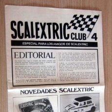 Scalextric: SCALEXTRIC CLUB 4 , AÑOS 70. EN PERFECTO ESTADO. SIN ROTOS NI RAYAS. Lote 170349788